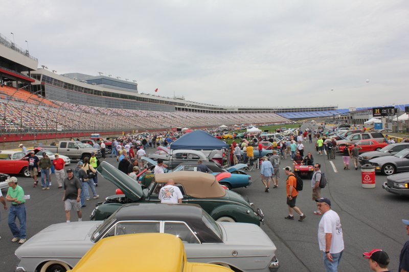 Aaca classic car show at the charlotte motor speedway for Auto fair at charlotte motor speedway